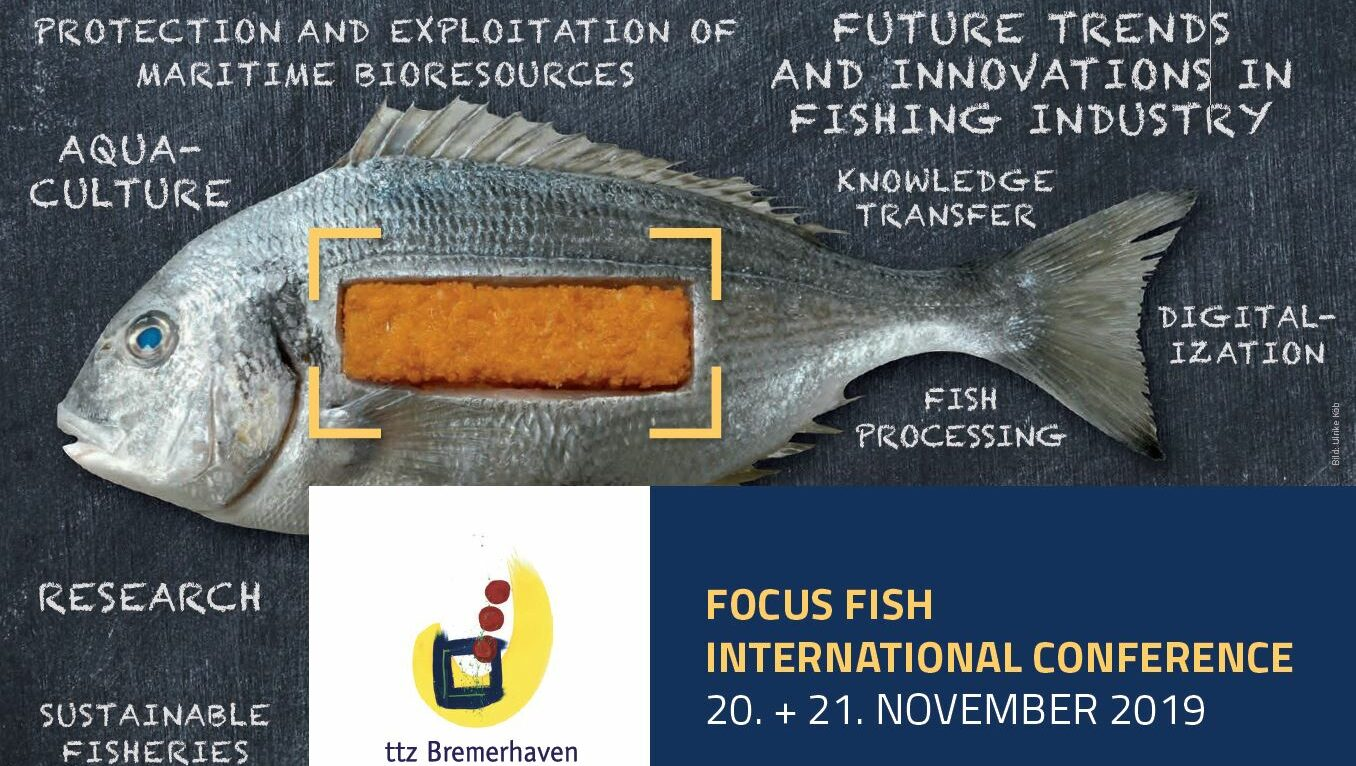 Meet us at the Focus Fish international conference in Bremerhaven
